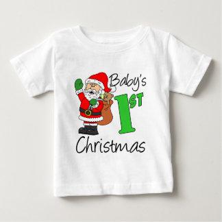 Baby's 1st Christmas Baby T-Shirt