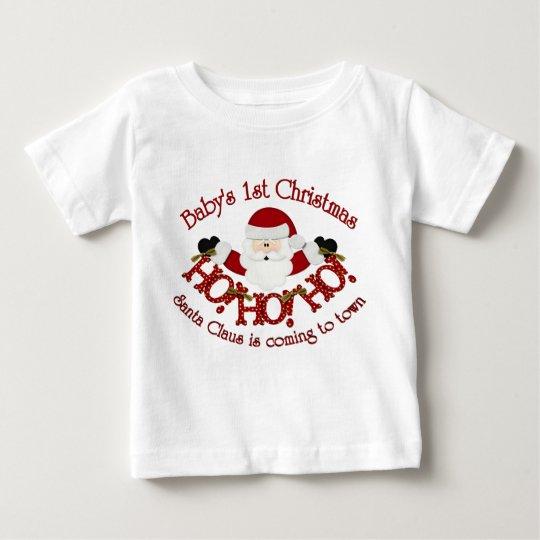Babys 1st Christmas Baby T-Shirt