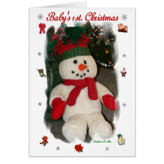 Baby's 1st Christmas Cards