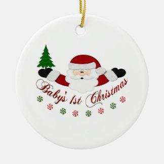 Babys 1st Christmas Ceramic Ornament