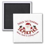 Babys 1st Christmas Magnet