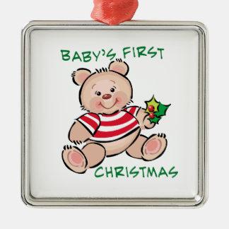 Baby's 1st Christmas Metal Ornament