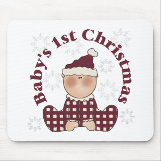 Baby's 1st Christmas Mouse Pad