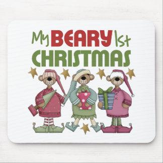 Babys 1st Christmas Mouse Pad