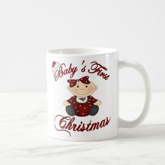 Babys 1st Christmas Classic White Coffee Mug
