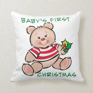 Baby's 1st Christmas Pillow