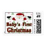 Babys 1st Christmas Postage