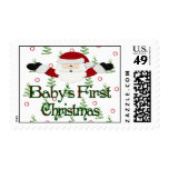 Babys 1st Christmas Stamps