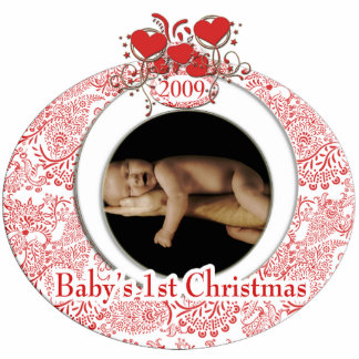 Baby's 1st Christmas Statuette