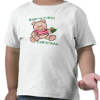 Baby's 1st Christmas Shirts