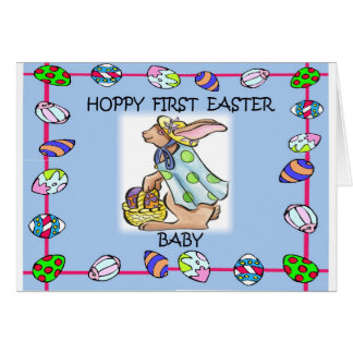 Baby's 1st Easter Card
