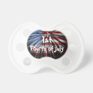 Baby's 1st Fourth of July Pacifier