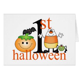 Baby's 1st Halloween Greeting Card