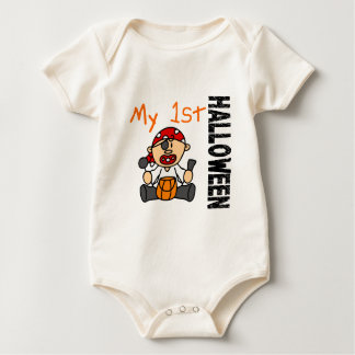 Baby's 1st Halloween Pirate BOY Creeper