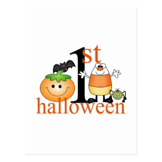 Baby's 1st Halloween Postcard