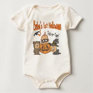 Baby's 1st Halloween Rompers