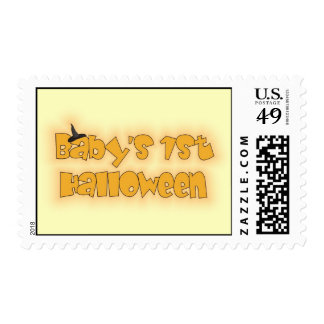 Baby's 1st Halloween Stamps