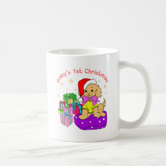 Baby's 1st hristmas mug