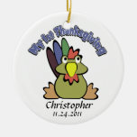 Baby's 1st Thanksgiving Ornaments