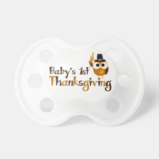 Baby's 1st Thanksgiving Pacifier