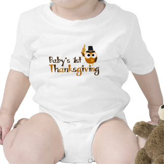 Baby's 1st Thanksgiving Baby Creeper