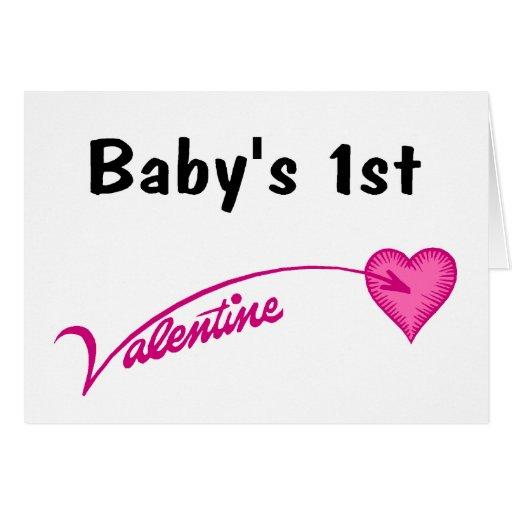Baby's 1st Valentine Card