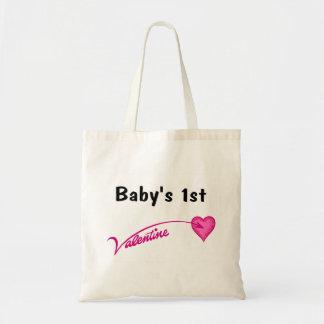 Baby's 1st Valentine Tote Bag