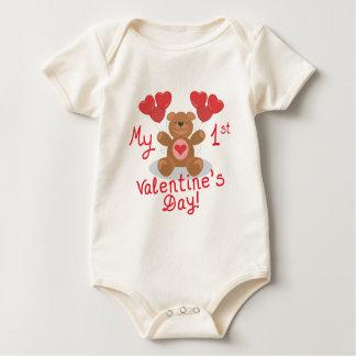 Baby's 1st Valentine's Day Bodysuit