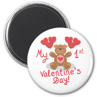 Baby's 1st Valentine's Day Magnet