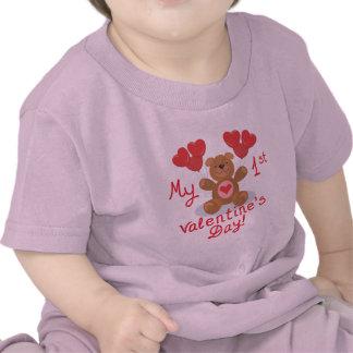 Baby's 1st Valentine's Day Tees