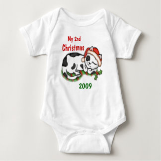 Baby's 2nd Christmas  / T-Shirt Custom