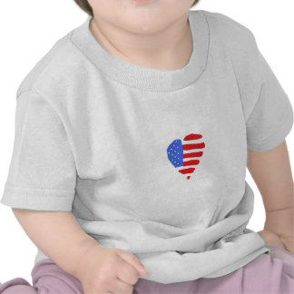 Baby's American Flag Shirt