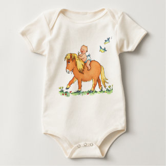 Baby's Arrival on Pony Horse - Baby Creeper