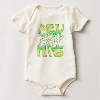 Babys Ashy Beat Hit ONZIE Baby Bodysuits
