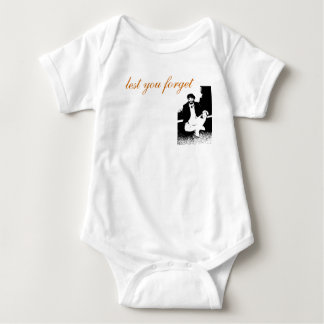 Baby's Basic Clown Logo Baby Bodysuit