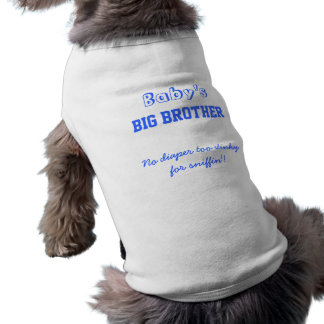 Baby's Big Brother Dog Tee