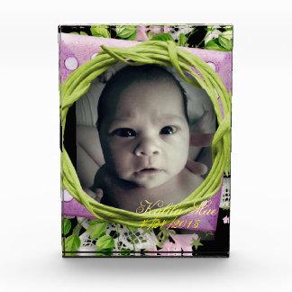 Baby's Birth Keepsake Acrylic Award