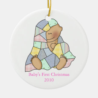 Baby's Blanket First Christmas ornament