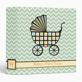 Baby's Blocks Stroller 3-Ring Binder