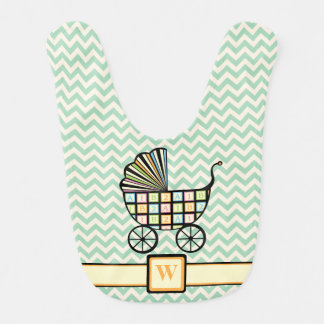 Baby's Blocks Stroller Baby Bib