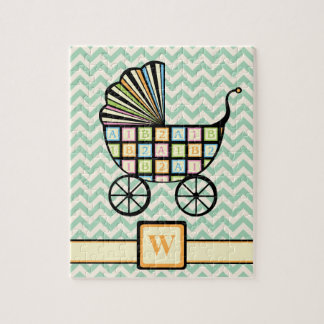 Baby's Blocks Stroller Puzzle