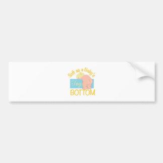 Babys Bottom Bumper Sticker