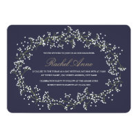 Baby's Breath Bat Mitzvah Card