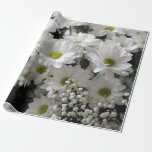 """Baby&#39;s Breath &amp; Daisies Wrapping Paper<br><div class=""""desc"""">Beautiful daisies and baby&#39;s breath flowers decorate this gift wrap.  Would be great for many occasions including weddings and anniversaries.</div>"""