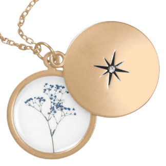 Baby's Breath Locket