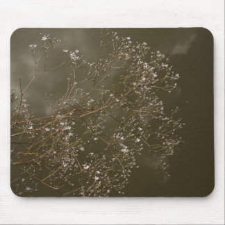 babys breath mouse pad