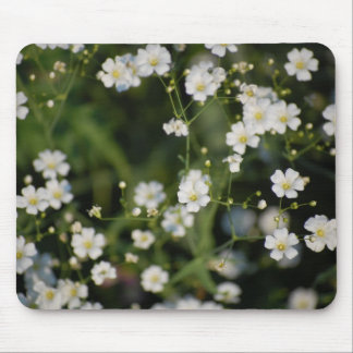 Baby's breath mouse pad