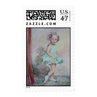 Baby's Debut postage stamps