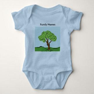 Baby's Family Tree Baby Bodysuit