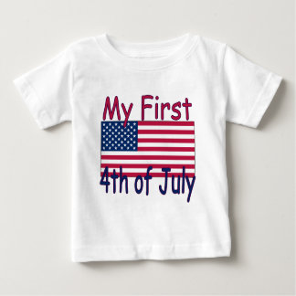 Baby's First 4th of July	Infant T-Shirt